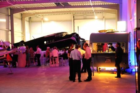 die Roli-Bar im Luftfahrtmuseum Wernigerode
